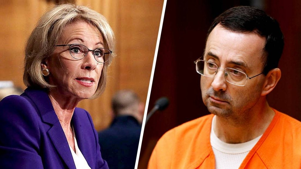 Betsy DeVos Orders Investigation Into How MSU Handled Larry Nassar Abuse