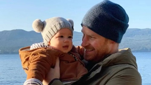 The Newest Photo of Baby Archie and Prince Harry Contains Sweet Hidden Messages
