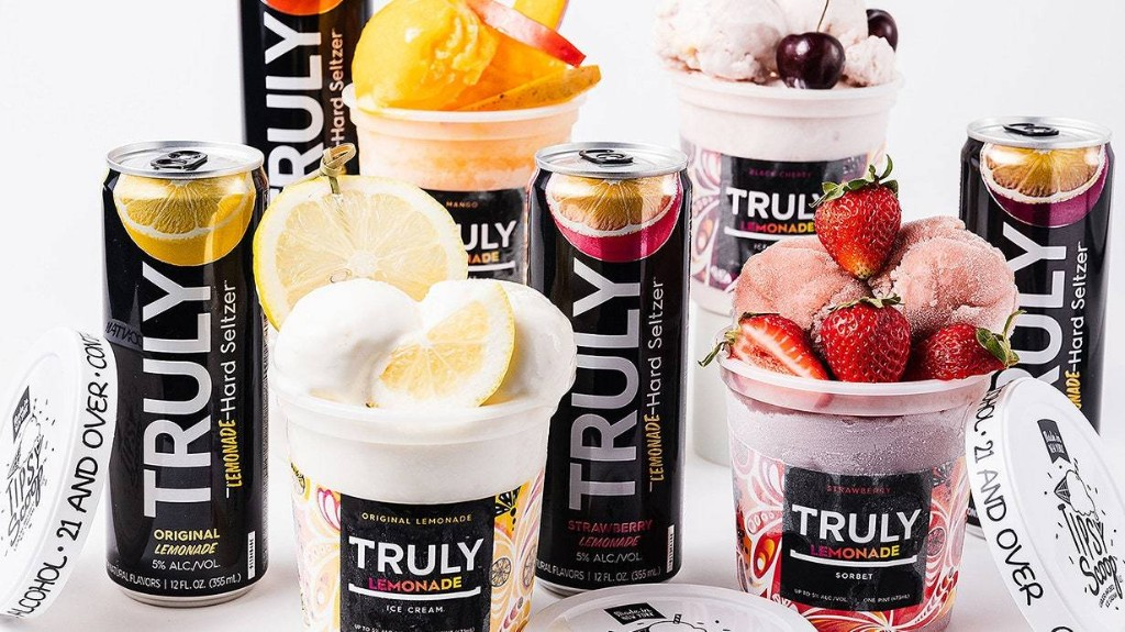 Truly Hard Seltzer Is Now Making Ice Cream, So Summer Is Saved