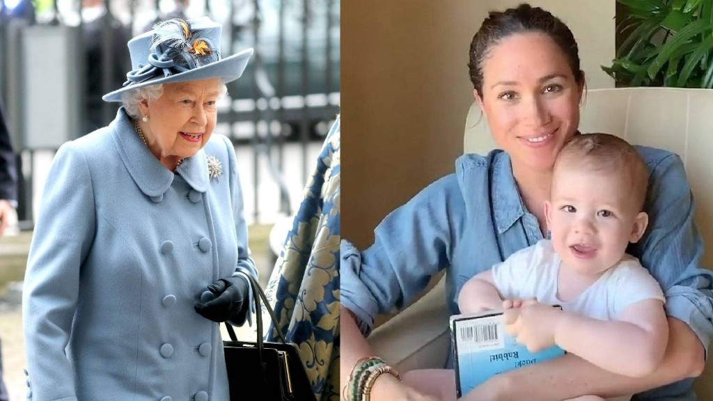 Queen Elizabeth II Reportedly Said the Cutest Thing to Archie Over Zoom