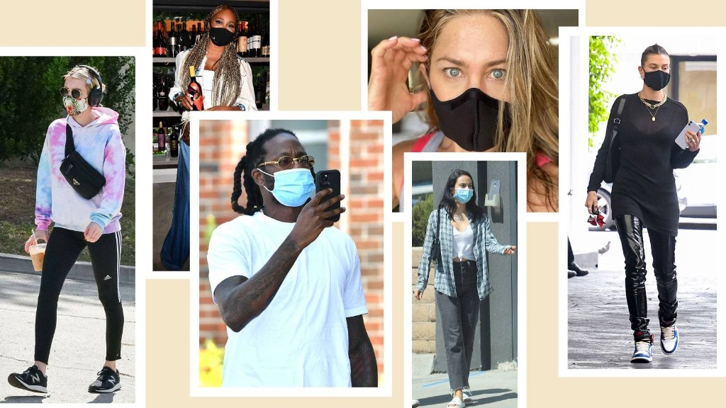 A Face Mask Is a Non-Negotiable For These Celebrities