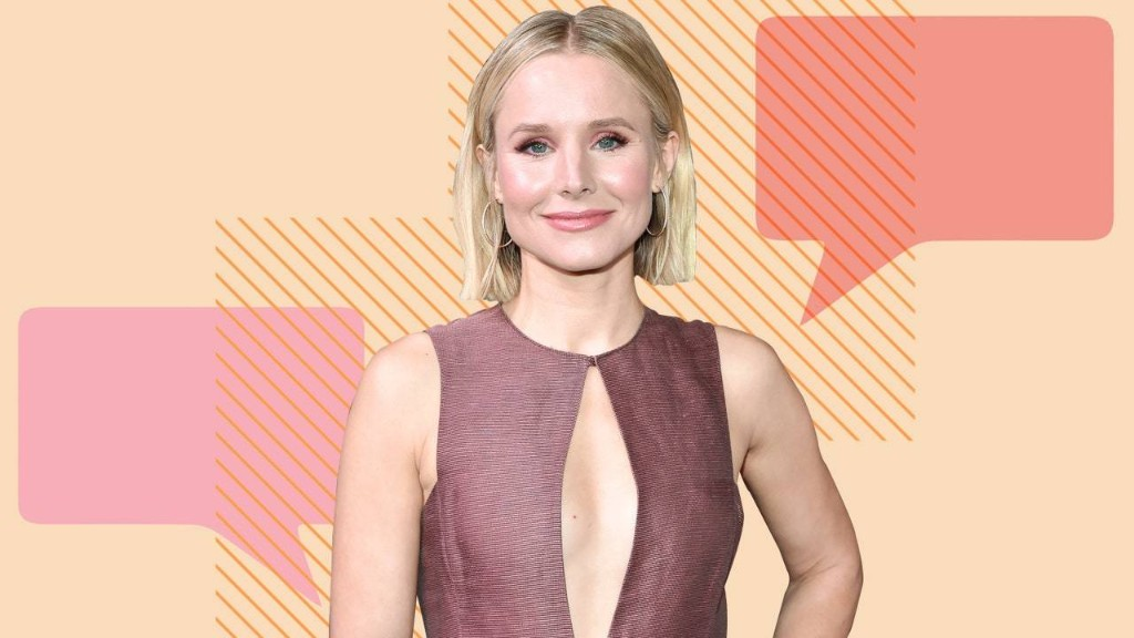 Kristen Bell Is All About That CBD Life