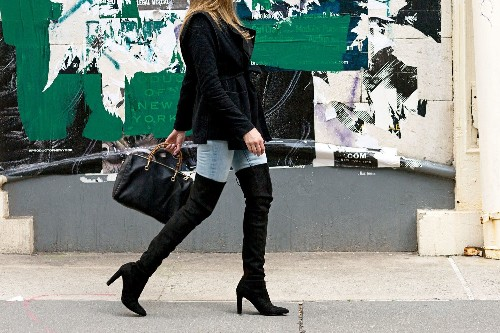 Fall Fashion Trend: How Thigh-High Boots Fit Large and Small Calves