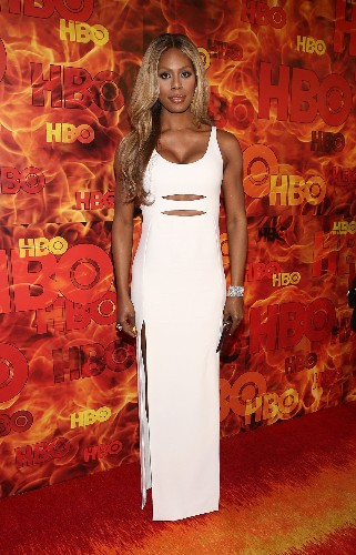 Emmy Awards 2015 After-Party Dresses: Lady Gaga, Laverne Cox, Emma Roberts, More