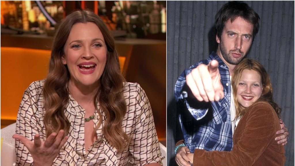 Drew Barrymore Tearfully Reunited With Her Ex-Husband After 15 Years of Not Speaking