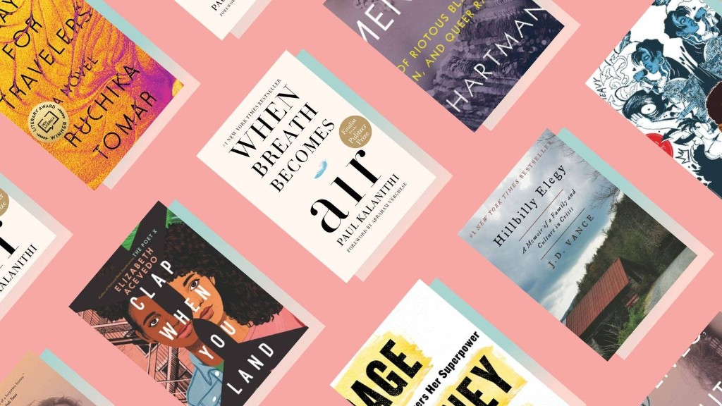 9 Life-Changing Books, According to Glamour's 2020 College Women of the Year