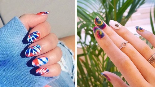 Tie-Dye Nails Are Here Just in Time for Summer