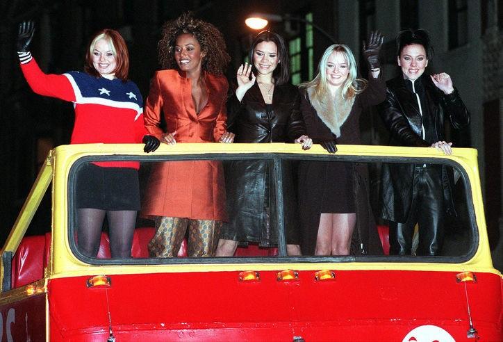 Spice Girls (Spice World) - Magazine cover