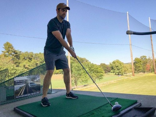 How I helped my husband play better golf—and what you can learn from our experience