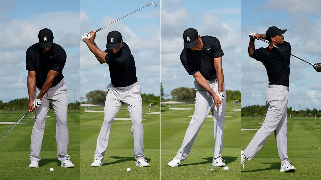 How Tiger Hits Every Shot