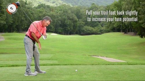 One simple move to more rotation and longer drives