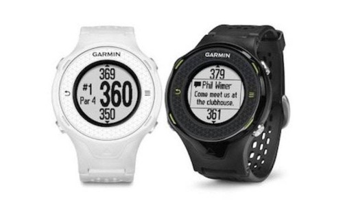 Rangefinder watch receives texts, email
