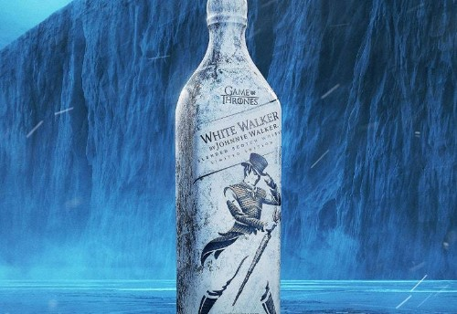"Johnnie Walker and 'Game of Thrones' join forces for inevitable ""White Walker"" scotch"