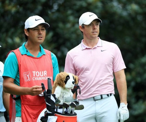 The book Rory McIlroy is reading to kill time between rounds at the Tour Championship is, well, a little on the heavy side
