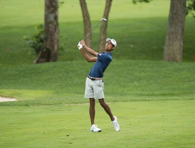 Junior phenom Akshay Bhatia adds to his legend with this amazing chip-in eagle to cap his latest victory
