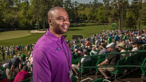 From a jail cell to Amen Corner, Valentino Dixon's improbable journey continues - Golf Digest