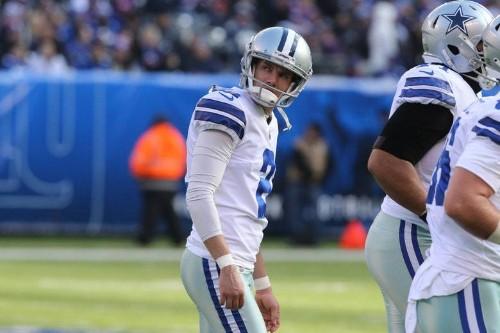 Cowboys kicker Brett Maher cut after spending morning with sick kids