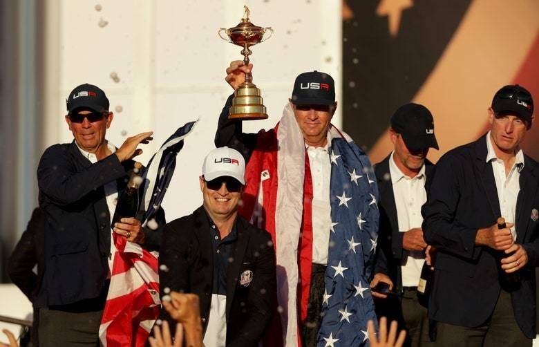 Davis Love III, Zach Johnson officially named 2020 U.S. Ryder Cup vice captains