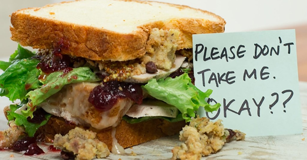 The Moist Maker: How to Make Ross Gellar's Thanksgiving Sandwich