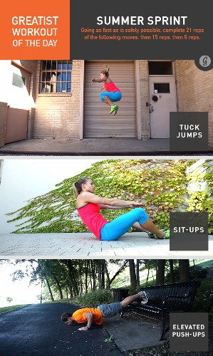 Greatist Workout of the Day: Friday, June 20th