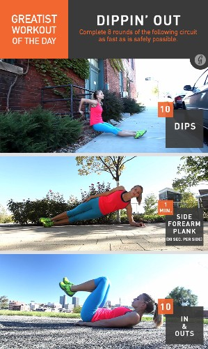 Greatist Workout of the Day: Friday, January 16th