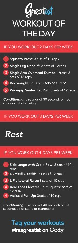 Greatist Workout of the Day: Thursday August 8th