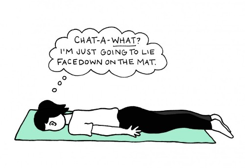 23 All-Too-Real Thoughts That Go Through Your Head During Yoga