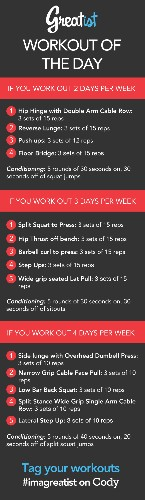 Greatist Workout of the Day: Monday August 5th