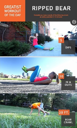 Greatist Workout of the Day: Thursday, January 22nd