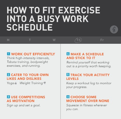 How to Fit Exercise into Your Routine—No Matter How Busy You Are