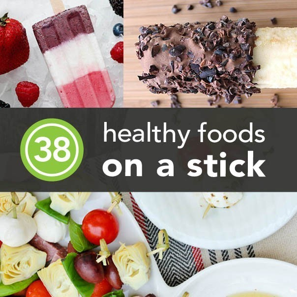 38 Healthy Foods to Eat on a Stick