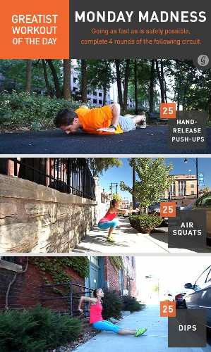 Greatist Workout of the Day: Monday, May 5th