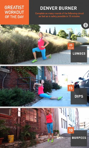 Greatist Workout of the Day: Thursday, November 20th