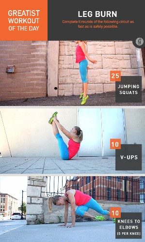 Greatist Workout of the Day: Monday, January 12th