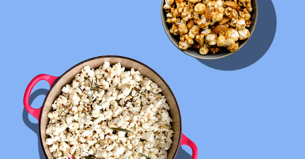 22 Popcorn Recipes for Snack Attacks