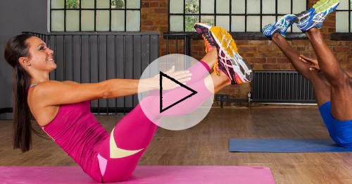 Home Workout: A 7-Minute Total-Body HIIT Workout
