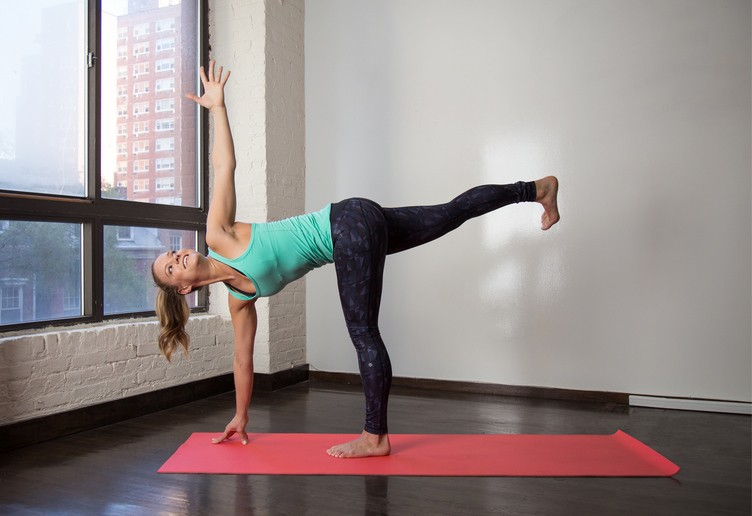 yoga options - Magazine cover