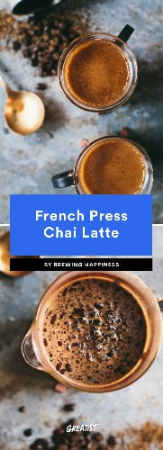 7 Drinks to Make in a French Press Besides Plain Ol' Coffee