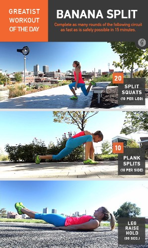 Greatist Workout of the Day: Wednesday, April 2