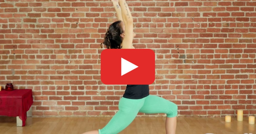A 30-Minute Yoga Workout to Get Your Heart Racing