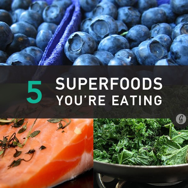 The 5 Ultimate Superfoods You're Not Eating But Probably Are