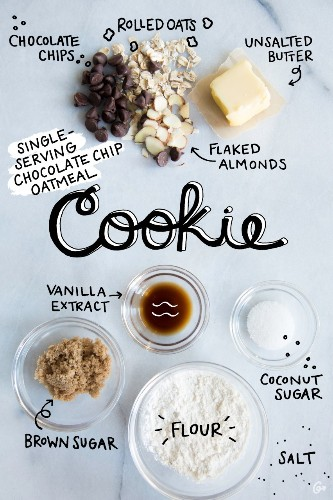 A Single-Serving Chocolate Chip Cookie for When You Don't Want to Whip Up a Full Batch