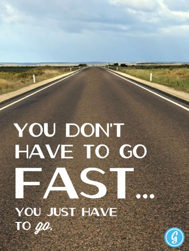 Poster: You Don't Have to Go Fast...