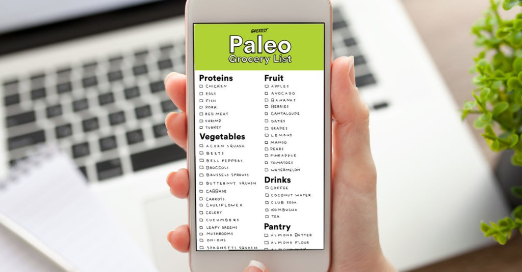 A Paleo Shopping List for Beginners (So You're Not Tempted to Buy Bread)