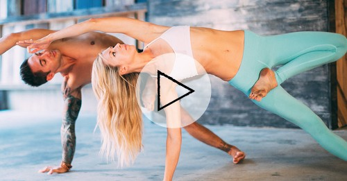 Arm Workouts: A 10-Minute Cardio-Yoga Video