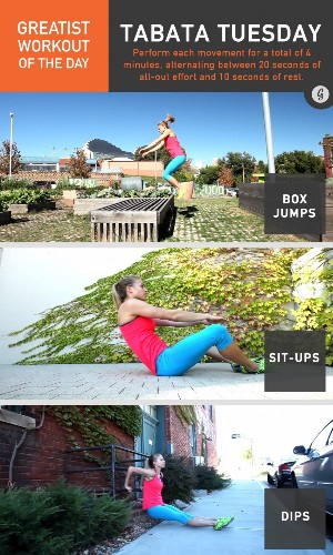 Greatist Workout of the Day: Tuesday, December 16th