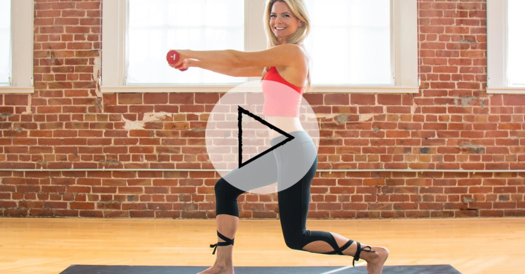 25 Minutes. 13 Moves. One Total-Body Pilates Workout That Burns So Good