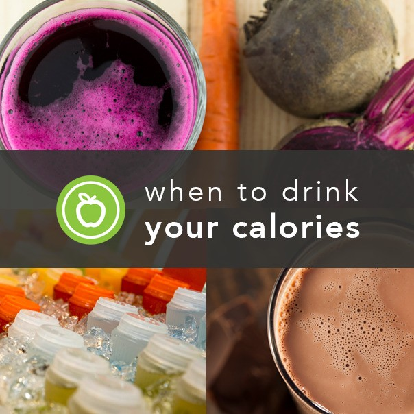 Hold the Water: When Calorie-Packed Drinks Are the Smarter Choice
