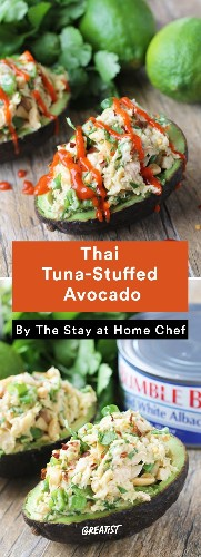 11 Stuffed Avocado Recipes That Are Basically Boatloads of Happiness