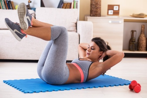 Tips for Working Out at Home When It's The Last Thing You Want To Do
